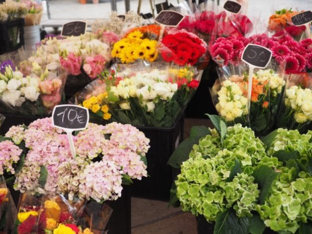marché aux fleurs Aix-en-Provence