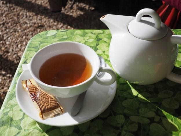 thé au chateau du rivau