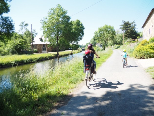 la vélo francette en famille