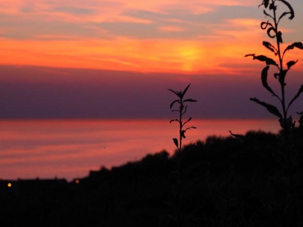 coucher du soleil Equihen
