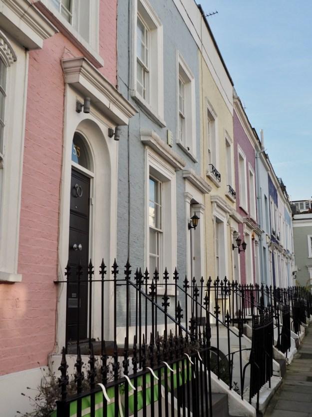parcours dans Notting Hill
