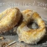 Sweet Sugar Fried Doughnuts