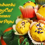 (Almost) Starbucks Lemon Cake Pops