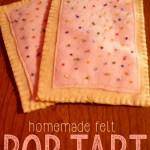Felt Food: Pop Tarts DIY Tutorial