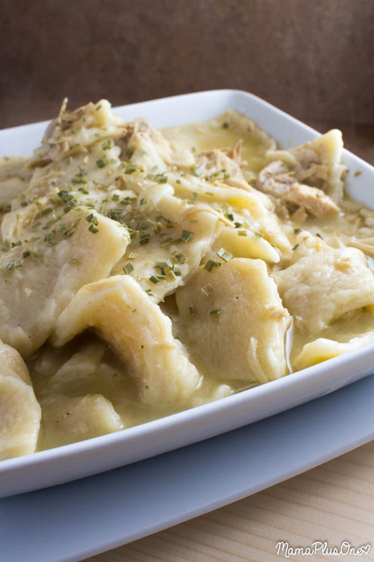 Chicken and dumplings are so delicious and so easy to make-- you won't want to miss this classic recipe. If you're looking for comfort food, this really is a big hit, and makes plenty for leftovers, too! So get out the chicken, grab some flour, and make this hearty classic your family will beg for.