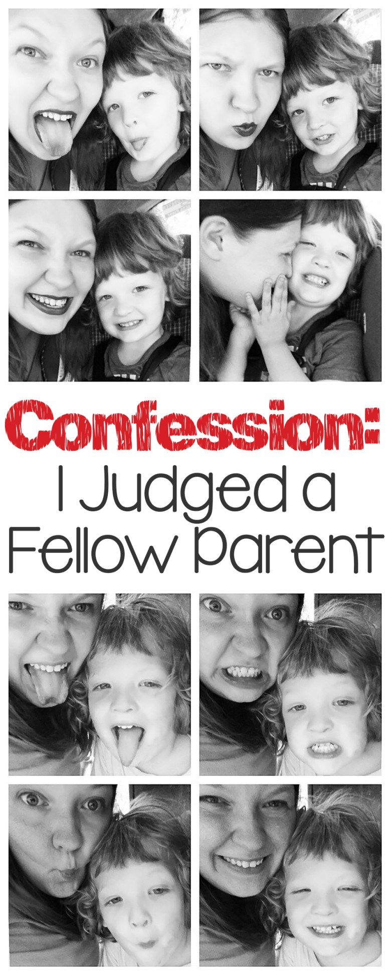 I judged a fellow parent recently-- have you been there, done that? It can be hard not to pass judgment when people have different views and parenting styles, so how do you handle it?