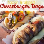Bacon Wrapped Cheeseburger Dogs