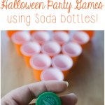 Super Easy Halloween Party Games (You Can Play Using Soda Bottles!)
