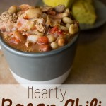 Hearty Bacon Chili– with a twist!