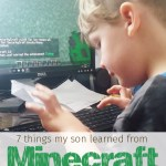7 Things My Son Has Learned from Playing Minecraft Every Day