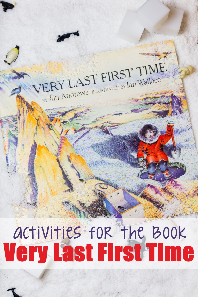 "What was your Very Last First Time? We all experience important ""lasts."" Our last first day of school, our last first time going to the dentist, and more. In the book, the main character experiences her very last first time doing something alone-- going and collecting mussels off of the sea bed. Whether you are rowing the book or just enjoying reading it with your kids, here are some extension activities for the book Very Last First Time. 