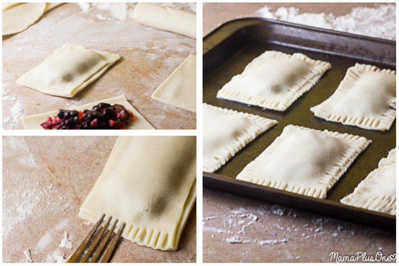I love a good toaster pastry, especially Pop Tarts, but if you make these, you are never going to buy storebought again… flaky crust, hearty filling, deliciously sweet, tender flavor, and sprinkles in any color of the rainbow! Plus, they're super easy to make with a semi-homemade filling! Get these yummy toaster pastries on your table in a matter of minutes (and get your kids enjoying some real fruit inside!) A homemade toaster pastry is the perfect breakfast treat for your on-the-go family! | homemade pop tarts | easy breakfast idea | breakfast pastry recipe |