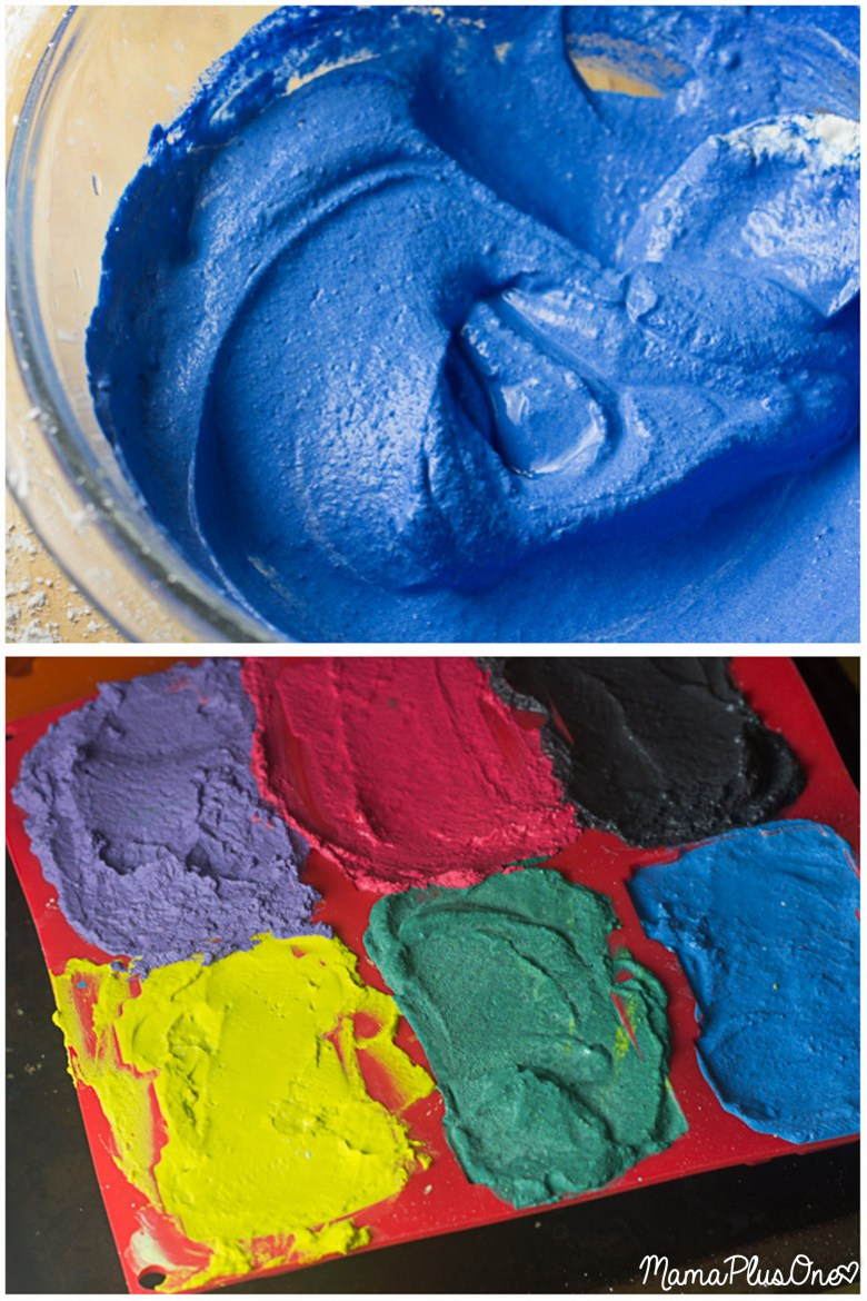 DIY Chalk is so easy to make-- it's the perfect way to prepare for summer. Simply make your own sidewalk chalk with a few easy-to-find ingredients for a bucketful of chalk that will last you all summer long! This homemade chalk recipe is also perfect for giving fun-shaped chalk pieces as party favors or gifts to friends! You can make your own chalk in any color you can imagine. Perfect kids DIY.