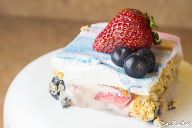Have fresh berries? Make this delicious berry icebox cake! Creamy and packed with berry flavor, it's the perfect treat for backyard barbecues and makes a great 4th of July dessert. Plus, it's a no-bake dessert so you don't have to worry about even heating up the kitchen to make it!