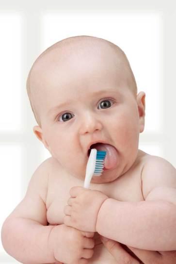 Baby-brushing
