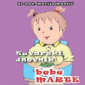 Stigle su nam super vesti, Kuvarski dnevnik bebe Marte 4. put u prodaji!!!