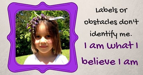 Labels or obstacles don't identify me.