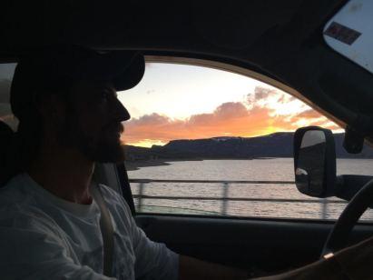 attitude sunset