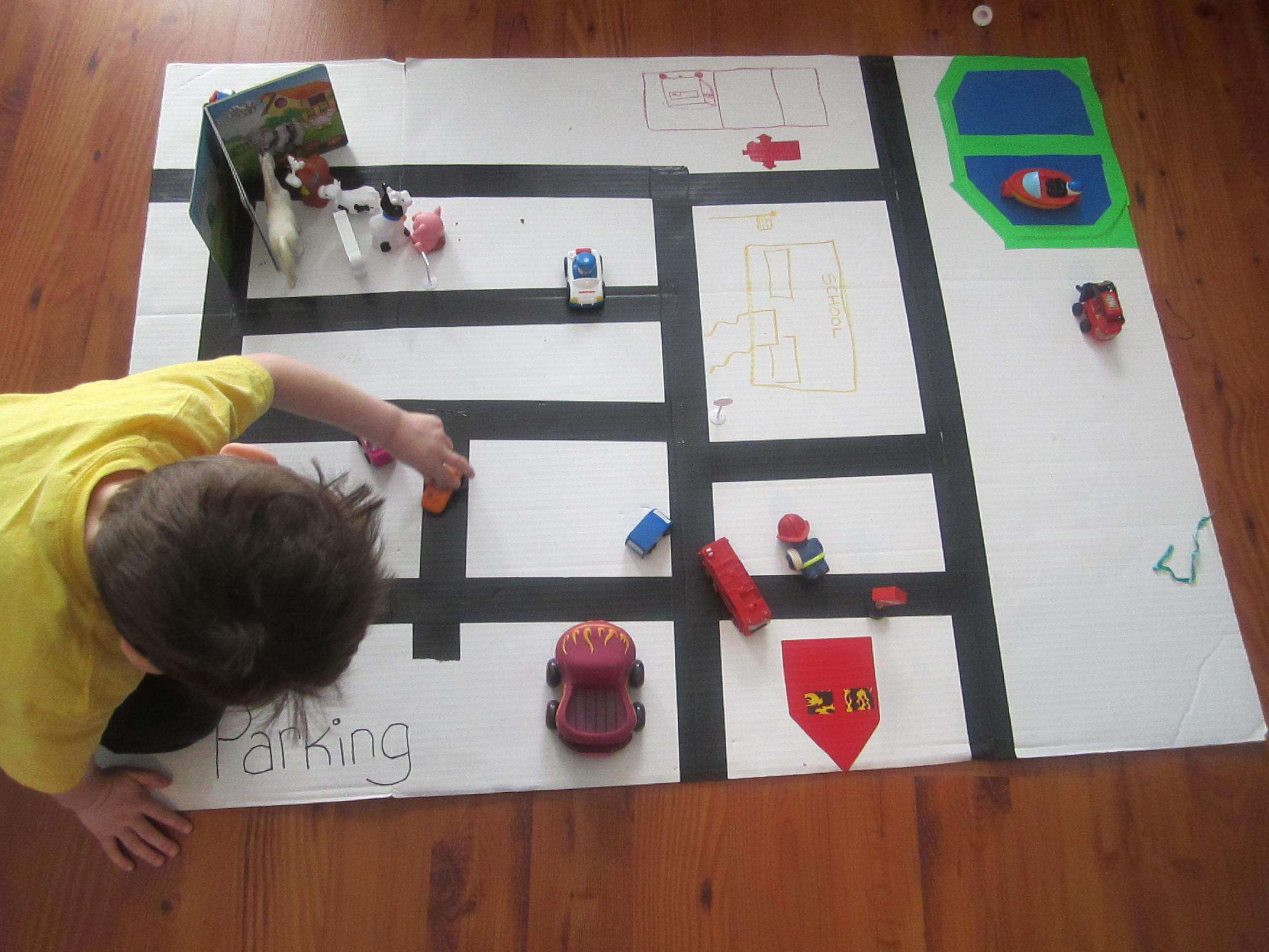 Toddler Community Map