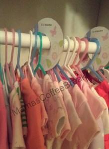 Organizing with DIY Wardrobe Tags MamasCoffeeBreak