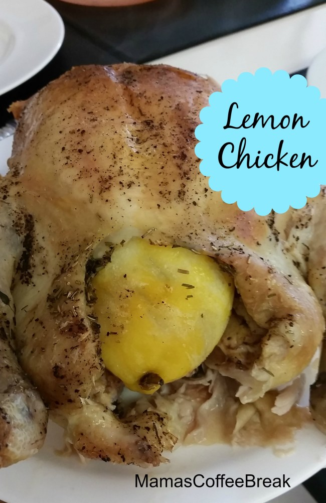 Lemon Chicken MamasCoffeeBreak