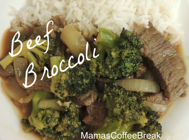 beef Broccoli MamasCoffeeBreak