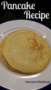 Simple pancake recipe mamascoffeebreak