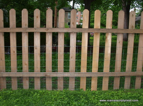 Houston fence with rabbit barrier