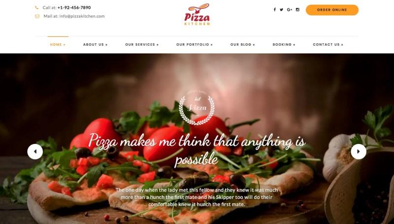 Pizza desktop