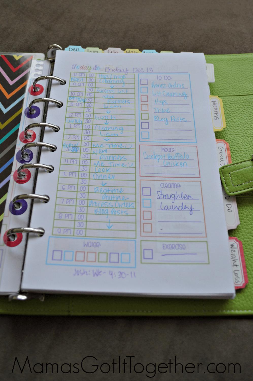 Martha Stewart Day Planner