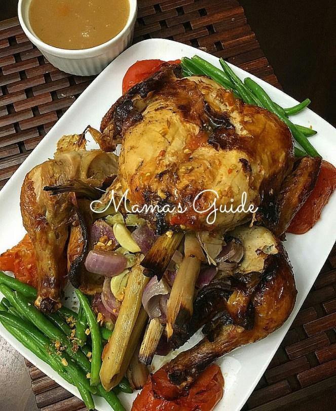 Lechon Manok in Sinigang Mix