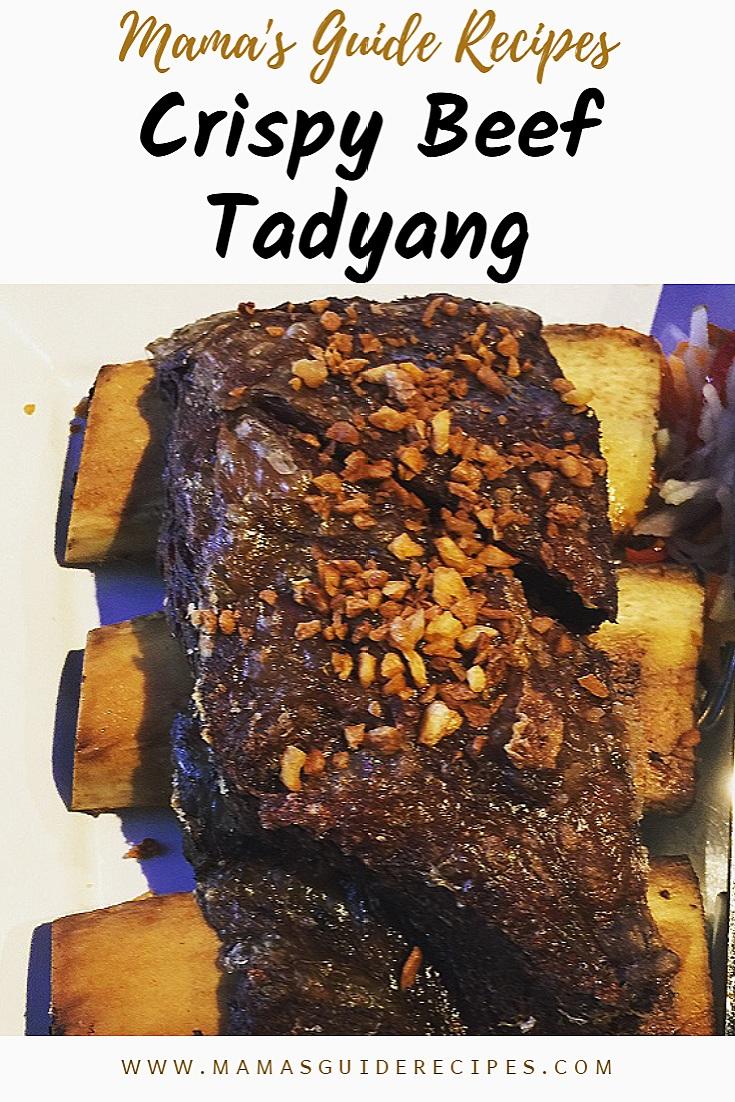 Crispy Beef Tadyang