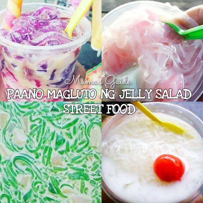 HOW TO MAKE JELLY SALAD