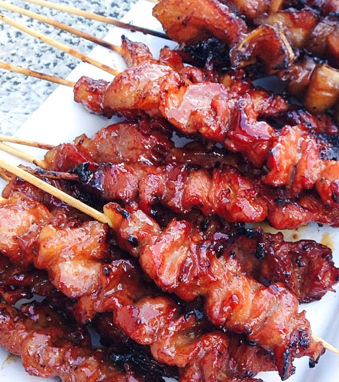 how to make pork barbeque, filipino style