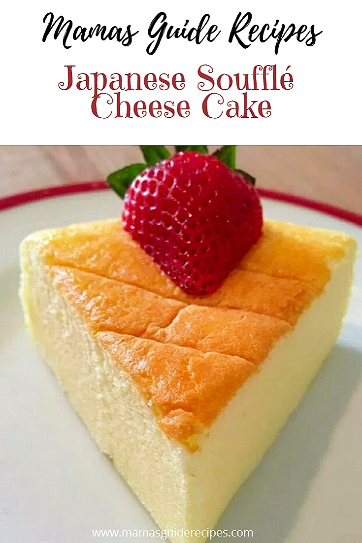 Japanese Soufflé Cheese Cake