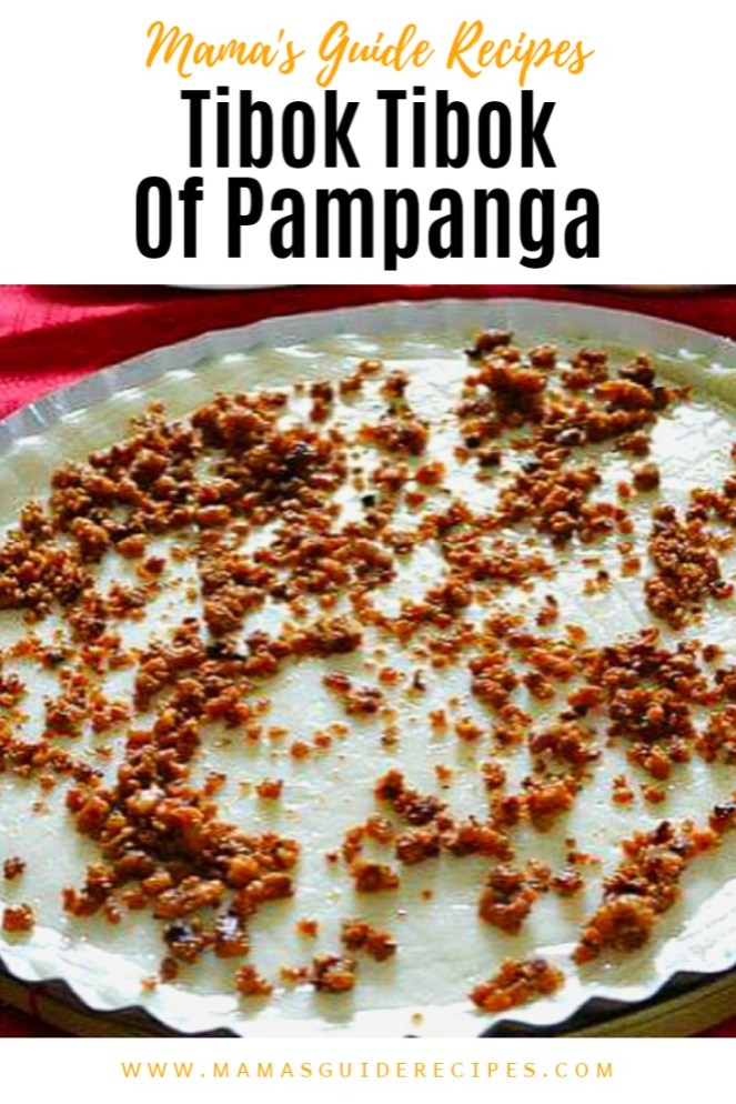 Tibok Tibok of Pampanga
