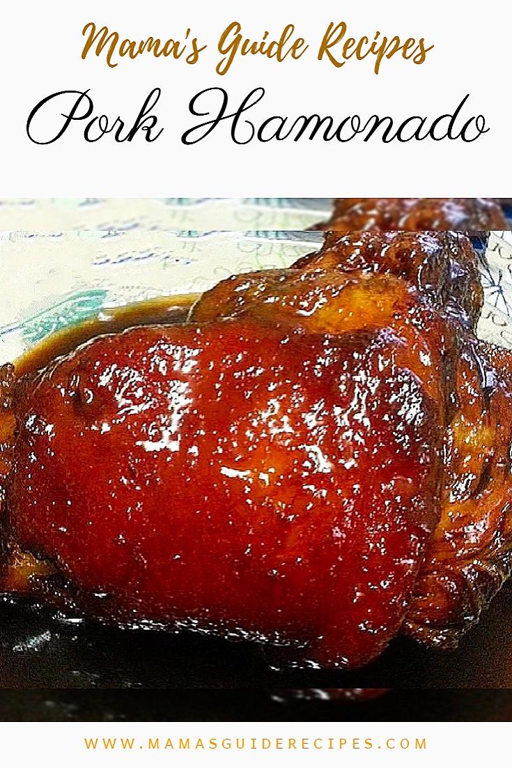 Pork Hamonado