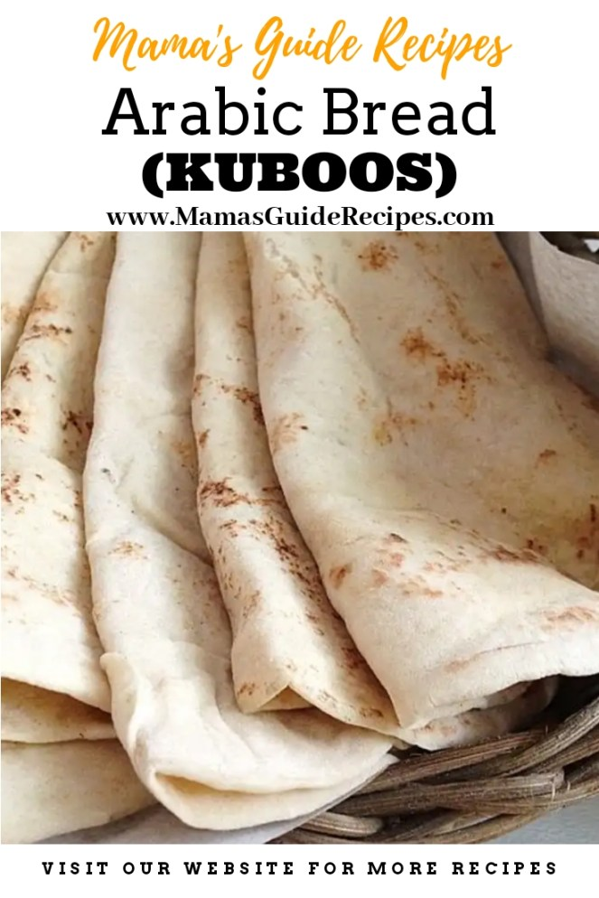 Arabic Bread (Kuboos)