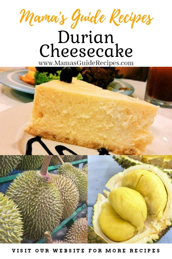 Durian Cheesecake Recipe