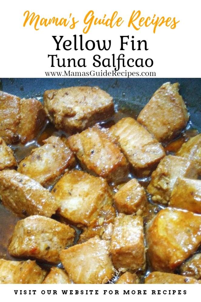 Yellow Fin Tuna Salficao