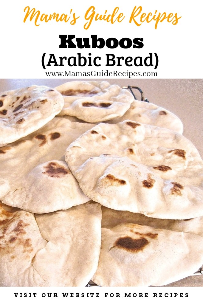 Kuboos (Arabic Bread)
