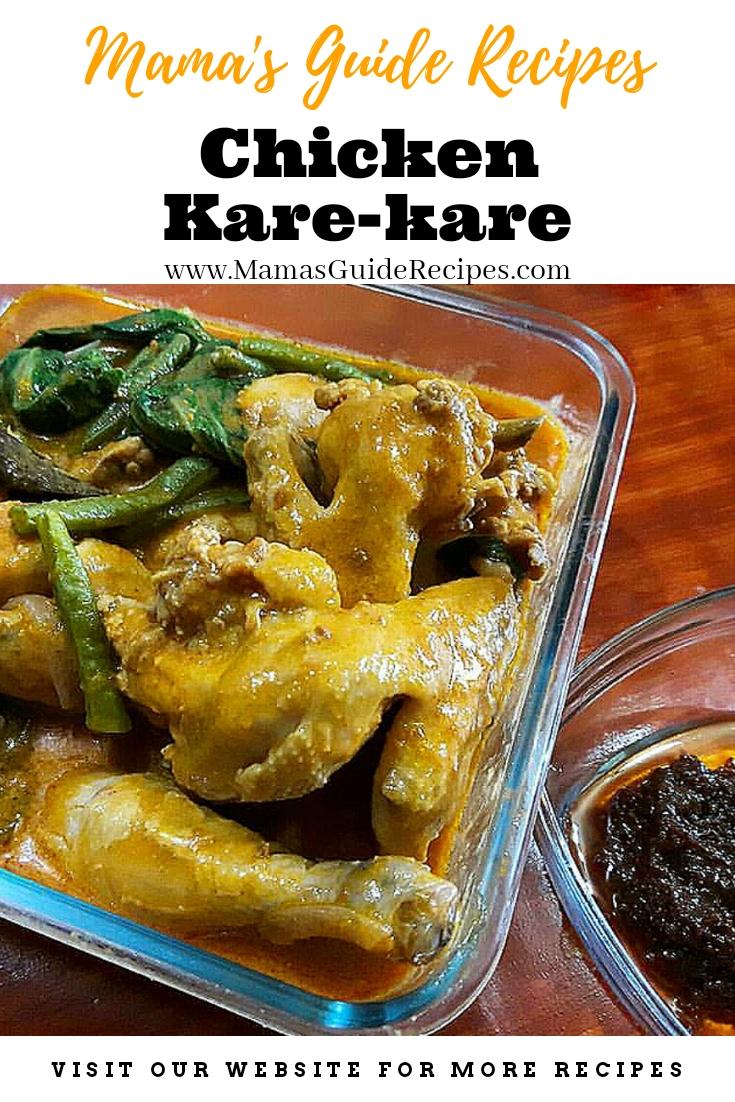 Chicken Kare Kare