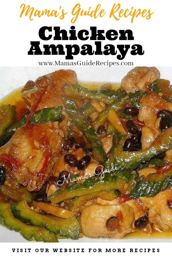 Chicken Ampalaya Recipe