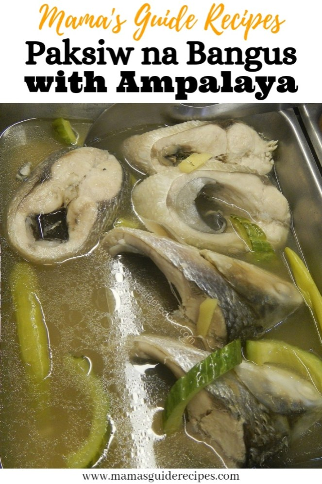 Paksiw na Bangus with Ampalaya