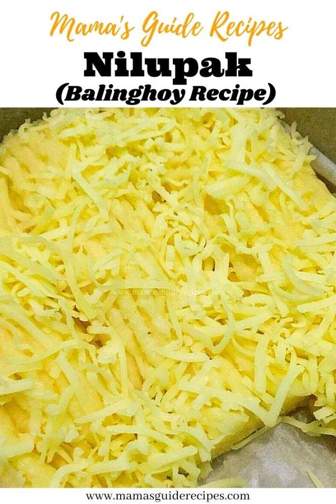 Nilupak (Balinghoy Recipe)