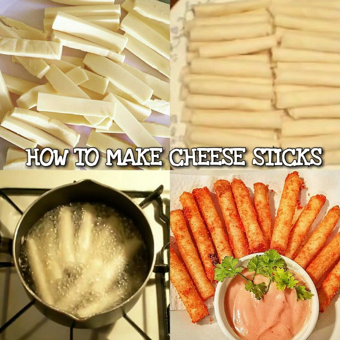 How to make Pinoy Cheese Sticks