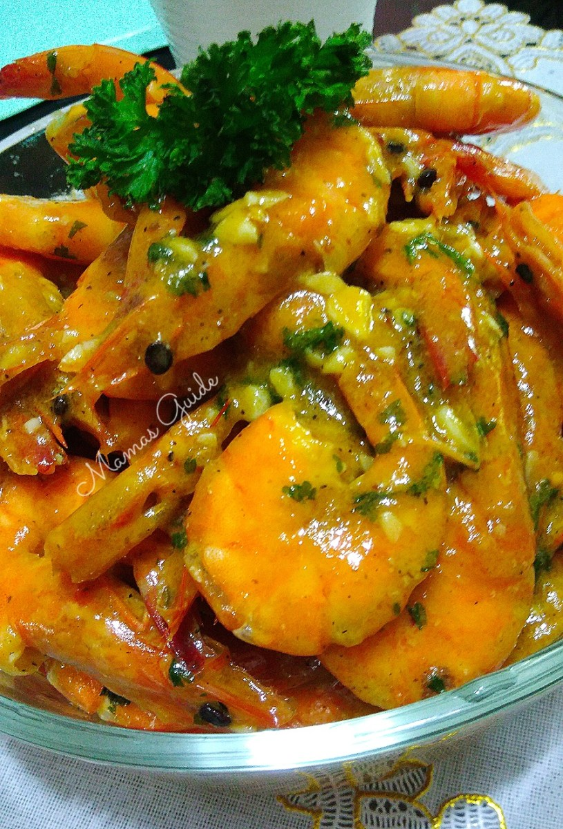 Delicious Buttered Shrimp Recipe