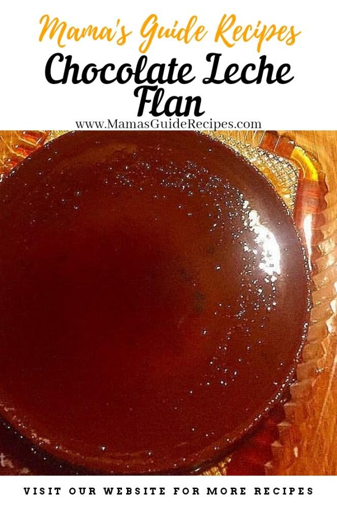 Chocolate Leche Flan Recipe