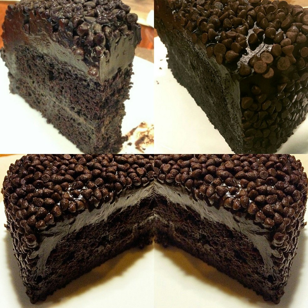 Chocolate Blackout Cake