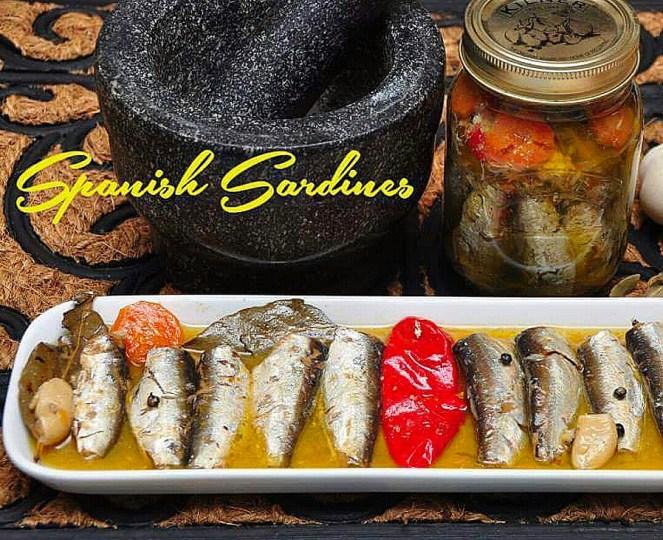 Homemade Spanish Sardines